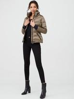 Barbour International Premium Axel Quilted Jacket - Bronze