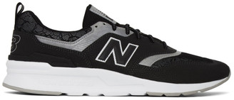 New Balance Black and Silver 997H Sneakers