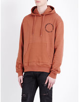 Criminal Damage Logo-print Cotton-jersey Hoody