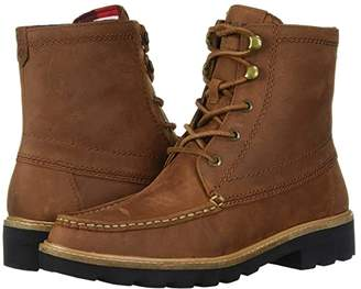 Sperry A/O Leather Lug Boot (Tan) Women's Shoes
