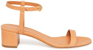 Mansur Gavriel Vegetable Tanned Ankle Strap Sandal - Cammello