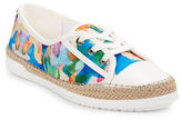 Anne Klein Zachary Patterned Sneakers
