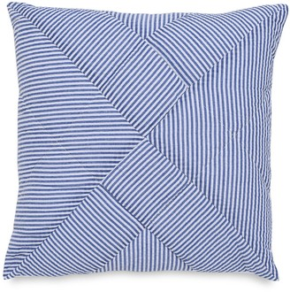 Southern Tide Dover Beach Quilted Seersucker Decorative Pillow