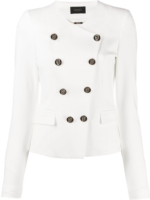 Liu Jo Double-Breasted Fitted Jacket