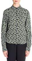 Marni Floral Button-Front Blouse