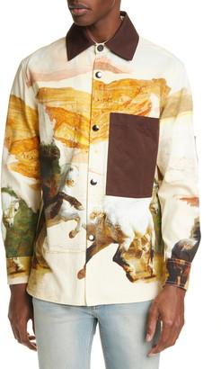 Acne Studios Osmar Horse Shirt Jacket