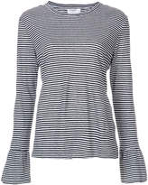 Frame striped longlseeved T-shirt