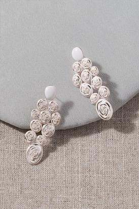 Anthropologie Nicola Bathie Charmaine Earrings By in Pink
