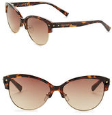 Calvin Klein 57mm Cat Eye Sunglasses