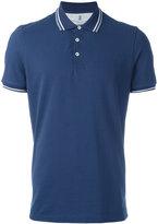 Brunello Cucinelli striped collar polo shirt - men - Cotton - XXL