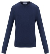 Rag & Bone Lance Cotton Crew-neck Sweater - Mens - Navy