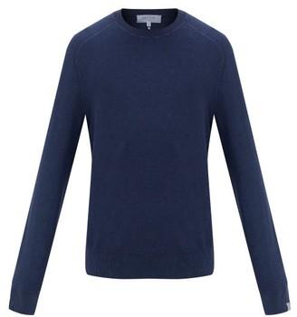 Rag & Bone Lance Cotton Crew-neck Sweater - Mens - Navy