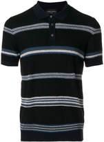 Roberto Collina striped polo shirt