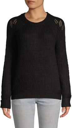 John & Jenn Raglan-Sleeve Sweater