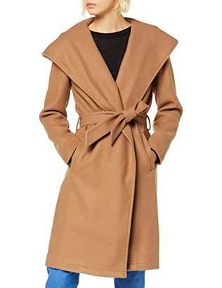 Only Women's Onlriley Wool Coat Cc OTW, Beige Camel