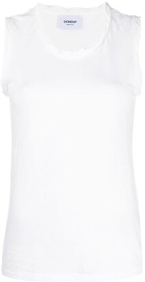 Dondup Crinkled-Effect Tank Top