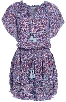 Poupette St Barth Elsa Layered Mini Dress