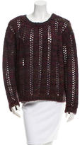Rachel Zoe Knit Crew Neck Sweater