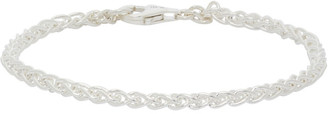Hatton Labs Silver HL Classic Rope Bracelet