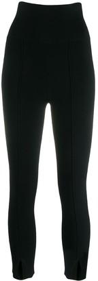 Sandro Paris Sienna high-waist leggings