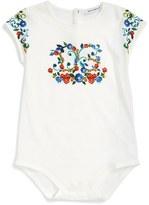 Dolce & Gabbana Infant Girl's 'Majolica' Bodysuit