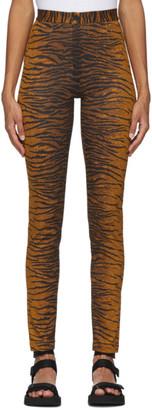 Kenzo Khaki Tiger Slim-Fit Trousers
