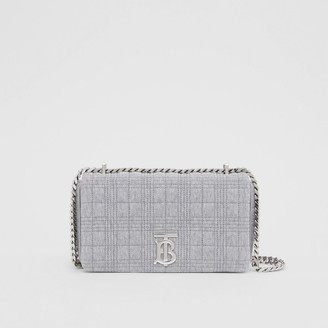 Burberry Small Quilted Jersey Lola Bag