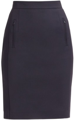Akris Punto Zip Pocket Pencil Skirt
