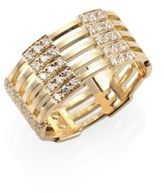 Melissa Kaye Izzy Diamond & 18K Yellow Gold Ring