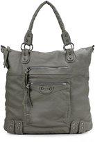 Scarleton Large Soft Washed Front Pocket Shoulder Bag H178401