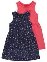 George 2 Pack Assorted Jersey Dresses