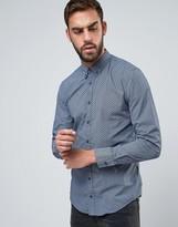 BOSS ORANGE by Hugo Boss Geometric Print Slim Fit Shirt