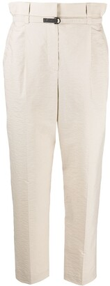 Brunello Cucinelli Belted High Waisted Trousers