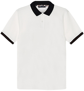 Aquascutum Timbs Contrast Collar Pique Polo Shirt