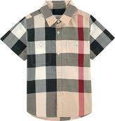 Burberry New Classic Check short-sleeved shirt