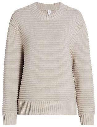 Varley Talbert Vertical Rib-Knit Sweater