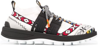 Etro Embroidered Low-Top Sneakers