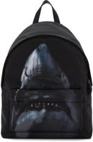 Givenchy Black Urban Shark Backpack