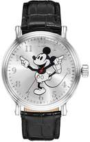 Disney Disney's Mickey Mouse Men's Leather Watch