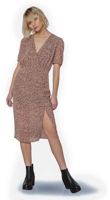 Steve Madden Dusky Business Midi Dress Amber
