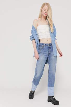 Urban Renewal Vintage Recycled Levis Spliced Hem Jean