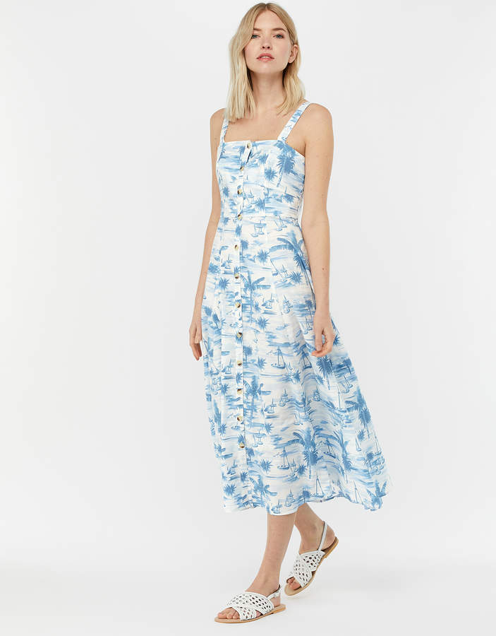 64a492049c11e Monsoon Fitted Dress - ShopStyle UK