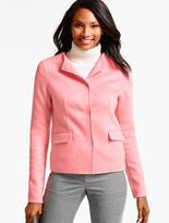 Talbots Double-Face Snap-Front Jacket