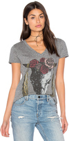Lauren Moshi Emmalyn V-Neck Tee