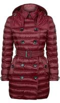 Burberry Hooded Down Puffer Coat
