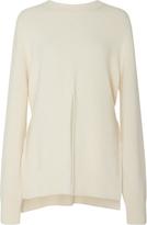 Proenza Schouler Cutout Wool Silk and Cashmere-Blend Sweater