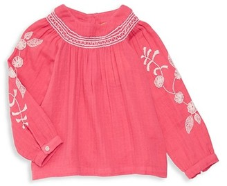 Roller Rabbit Little Girl's & Girl's Floral Embroiderd Peasant