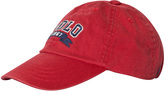 Ralph Lauren Red Polo Applique Cap