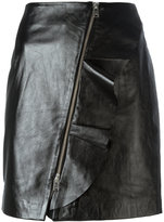 IRO straight leather skirt