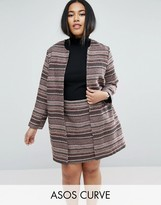 Asos Edge to Edge Stripe Jacket Co-Ord